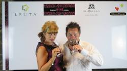 Kieth & Tania - Cortona in a wine glass -